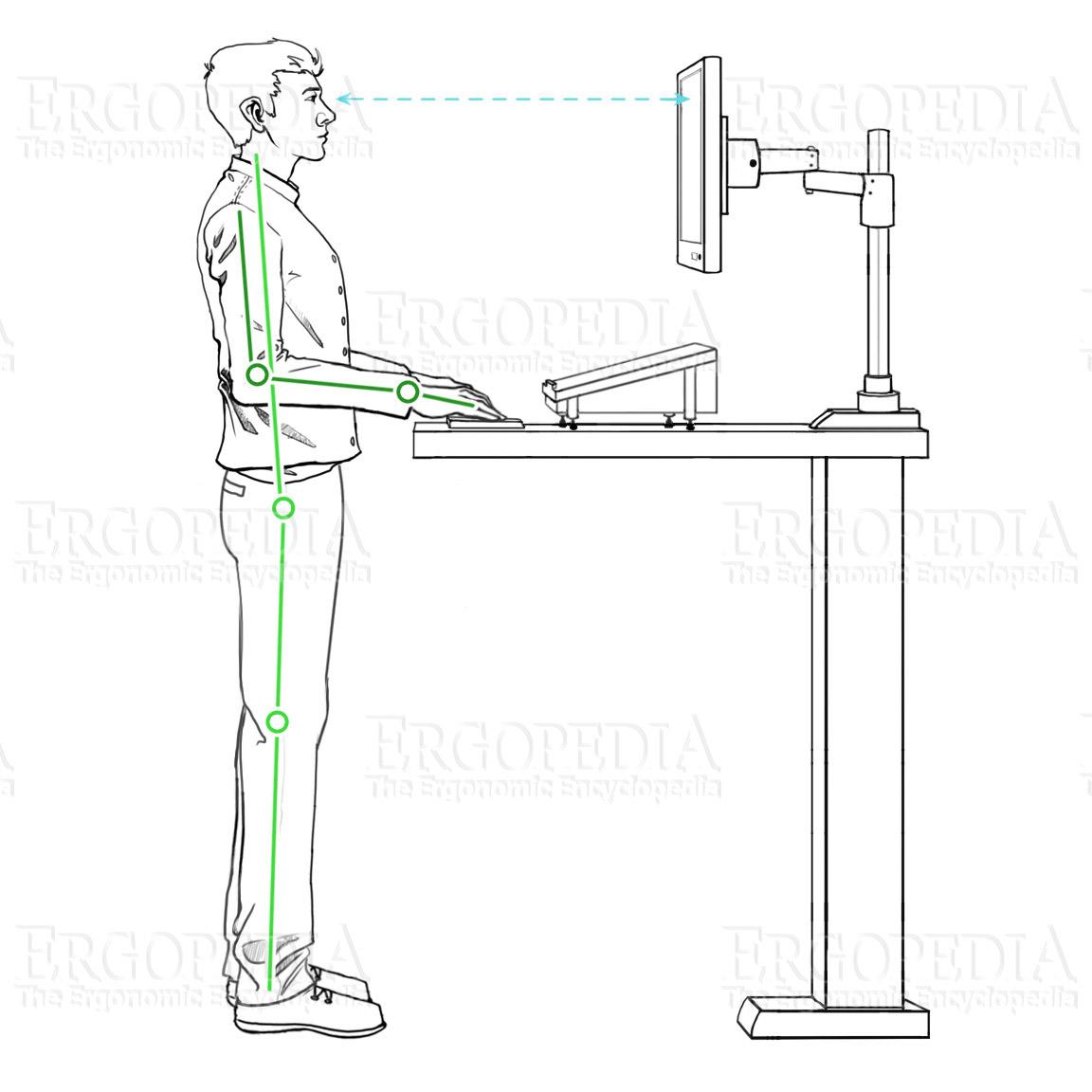 Ergonomic Workstation Graphic